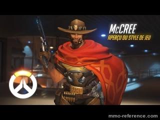 Vidéo Overwatch - Découvrir le personnage de McCreea en pleine partie
