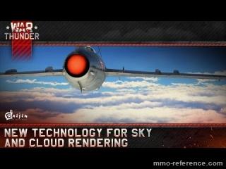 Vidéo War Thunder - Nouveau rendu graphique du ciel et des nuages