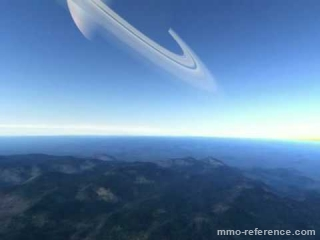 Vidéo Infinity Battlescape -  Voyage d'une station spatiale jusqu'à une planète