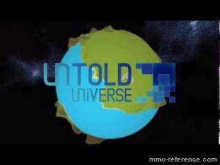 Vidéo Untold Universe - Une simulation spatiale et le bac à sable à base de cubes