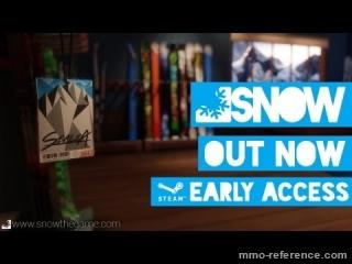 Vidéo Snow - Early Access Release sur Steam
