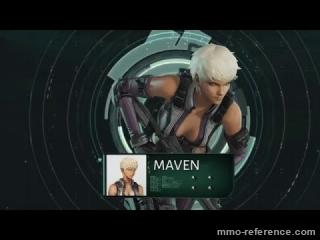 Vidéo Ghost in the Shell Online - Le personnage de Maven
