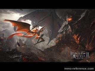 Vidéo League of Angels 2 - Les batailles dans le jeu