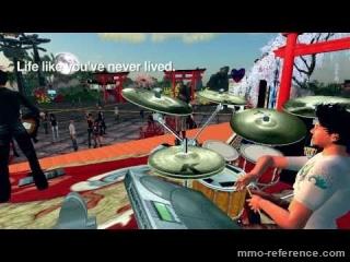 Vidéo Second Life - Devenez musicien en ligne