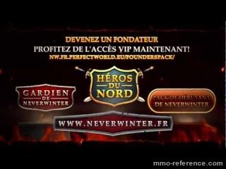 Vidéo Neverwinter - Pack du Fondateur VIP héros du nord