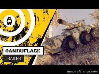 Vidéo Armored Warfare - Présentation du système de camouflage