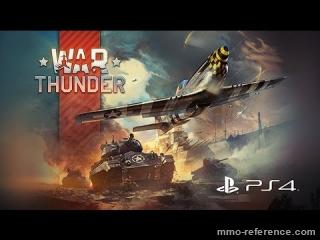 Vidéo War Thunder - Lancement du jeu de tank gratuit en ligne sur PS4