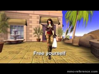 Vidéo Second Life - Le shopping dans le jeu en ligne