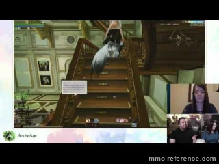 Vidéo ArcheAge - Livestream du MMORPG 17-07-2015