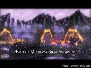 Vidéo Kingdom Wars - Trailer du MMORTS 3D avec combat de siège en temps réel