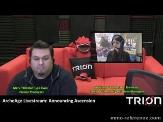 Vidéo ArcheAge - Livestream du MMORPG 29-04-2016