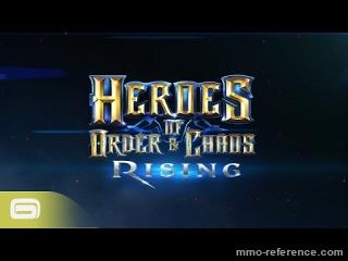 Vidéo Heroes of Order and Chaos -Nouveau menu pour la mise à jour graphique