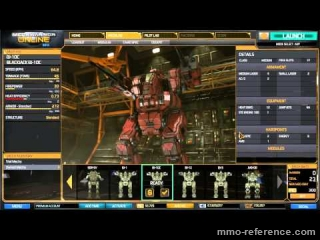 Vidéo MechWarrior Online - Blackjack