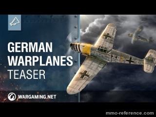 Vidéo World of Warplanes - Les avions de guerre Allemands