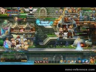 Vidéo Lunaria - Gameplay du mmorpg 2D side-scrolling sur navigateur web