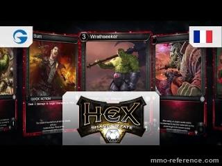 Vidéo HEX: Shards of Fate - MMORPG et stratégie des jeux de carte numérique