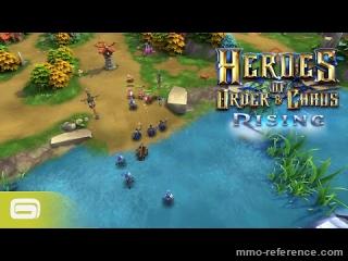 Vidéo Heroes of Order and Chaos - Teaser de la Nouvelle map Rising