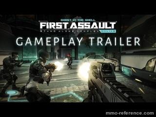 Vidéo Ghost in the Shell Online - Trailer officiel du jeu de tir