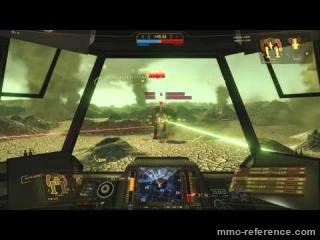 Vidéo MechWarrior Online - Cicada X-5 le héros