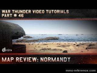 Vidéo War Thunder - La carte de la Normandie offre une grande diversité tactique