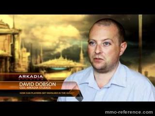 Vidéo Planet Arkadia - Interview du CEO