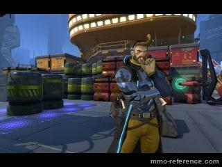 Vidéo Test de la réalité virtuelle dans le FPS Atlas Reactor