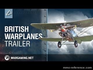 Vidéo World of Warplanes - Les avions de guerre Anglais