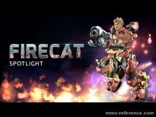 Vidéo Firefall - Firecat (Personnage)