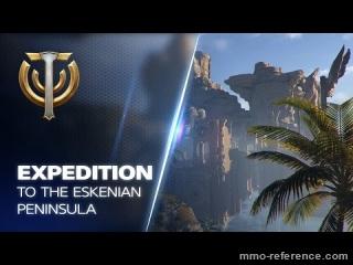 Vidéo Skyforge - Exploration de la péninsule d'Eskenian