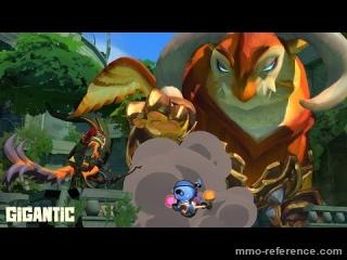 Vidéo Gigantic - Un jeu d'action en équipe pour Windows 10 et Xbox One