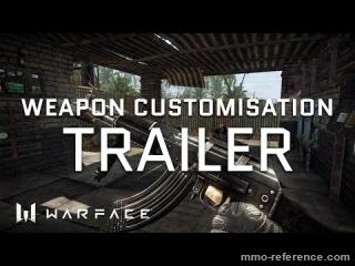 Vidéo Warface - Personnalisation des armes en temps réel