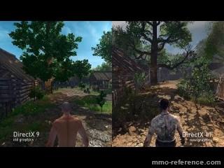Vidéo Life is Feudal - Comparaison du DirectX11 vs DirectX9