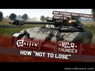 Vidéo Jouer facilement à War Thunder avec des chars légers