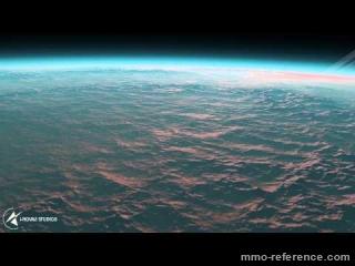 Vidéo Infinity Battlescape - Vol autour d'une planète