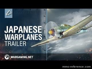 Vidéo World of Warplanes - Les avions de guerre Japonais