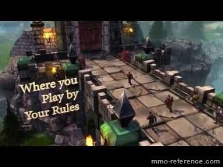 Vidéo Shards Online - Trailer du mmorpg isométrique