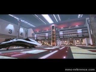 Vidéo Star Citizen - Les hangars comme révélé au Gamescom 2013.
