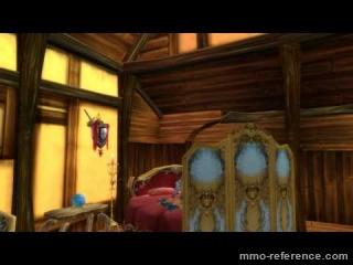 Vidéo Runes of Magic - La possibilité du housing dans le jeu