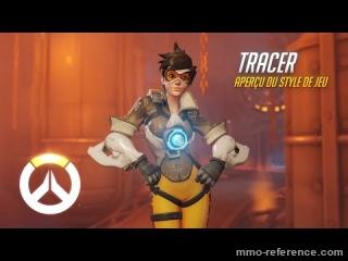 Vidéo Overwatch - Découvrir le personnage de Tracer en pleine partie