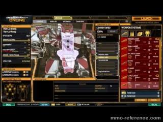 Vidéo MechWarrior Online - Vidéo de formation - Mechlab