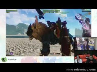Vidéo ArcheAge Ascencion - Livestream du MMORPG 03-06-2016