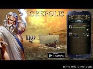 Vidéo Jouer à Grepolis Gratuitement sur Android