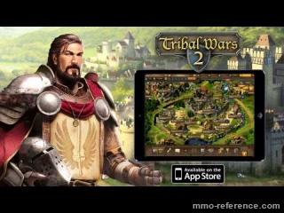 Vidéo Jouer à Tribal wars 2 maintenant sur tablette iOS