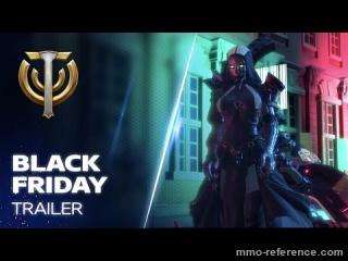 Vidéo Skyforge - Nouveaux Pack spécial Black Friday