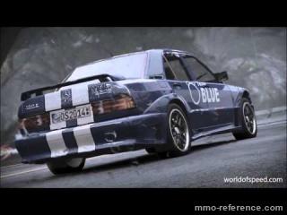 Vidéo World of Speed - La Mazda RX-7 contre la Mercedes Benz 190E