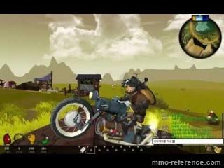 Vidéo Tree of Life - Test d'une moto dans l'environnement du jeu