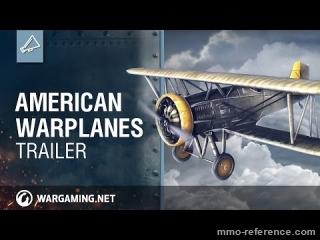 Vidéo World of Warplanes - Les avions de guerre Américains