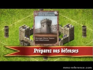 Vidéo Stronghold Kingdoms - Bande annonce du mmorts de stratégie gratuit