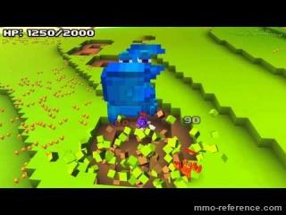 Vidéo Cube World - Attaque de crabes !