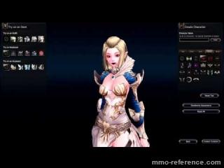 Vidéo Echo of Soul - La création des personnages à jouer